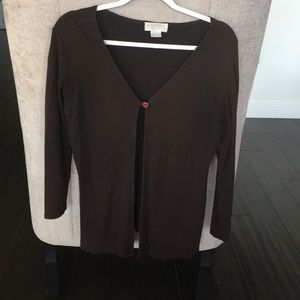 Express Tricot Brown Sweater